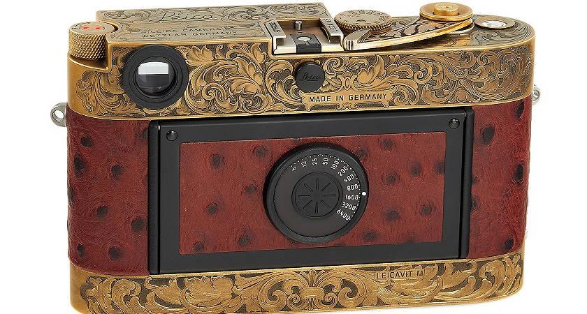 Камера Leica MP выставлена на аукцион с ценником 60 000 евро