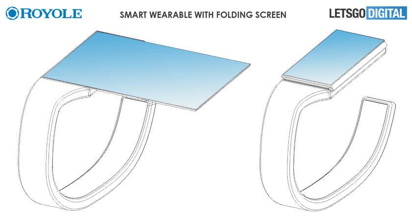 Компания Royole занимается разработкой умных часов с гибким экраном