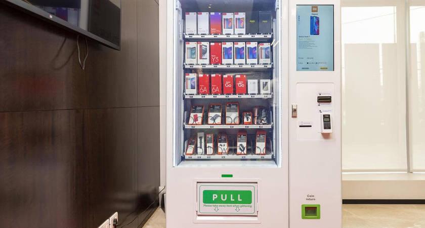 Компания Xiaomi представила Mi Express Kiosk – торговый автомат со смартфонами