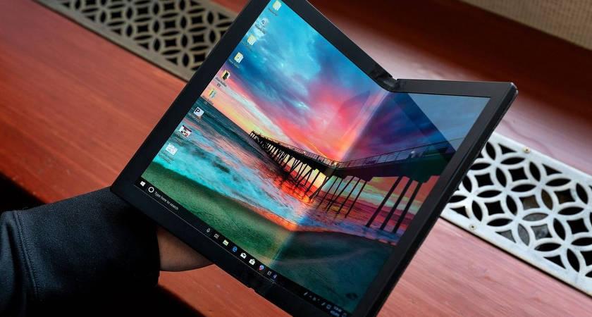 Компания Lenovo представила прототип ноутбука ThinkPad X1 с гибким дисплеем