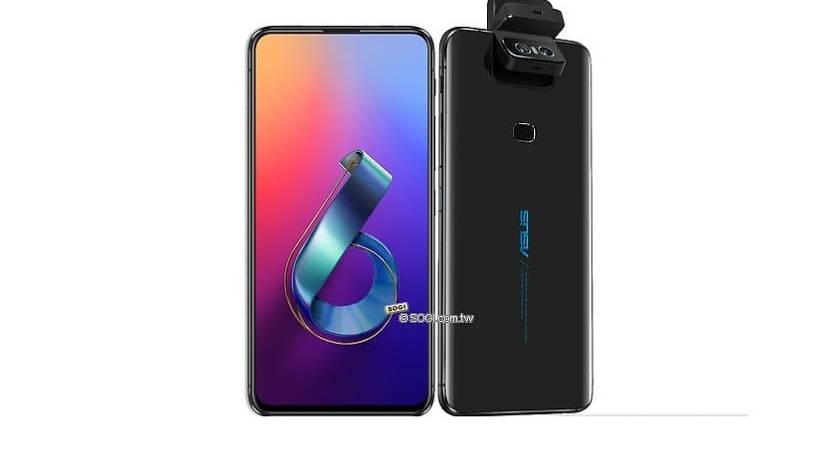 Флагманский смартфон Asus ZenFone 6Z получит вращающуюся камеру?