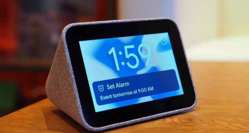 Lenovo Smart Clock: настольные часы с ассистентом уже в продаже!