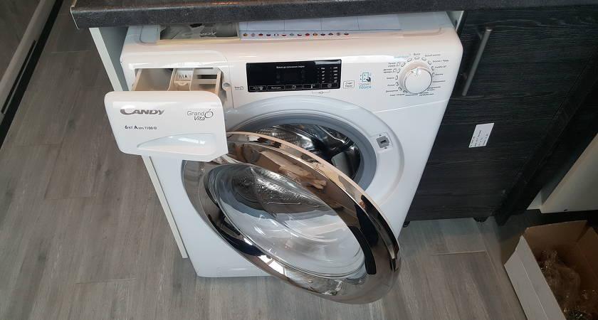 Обзор стиральной машины Candy GVS34 116TC2/2-07