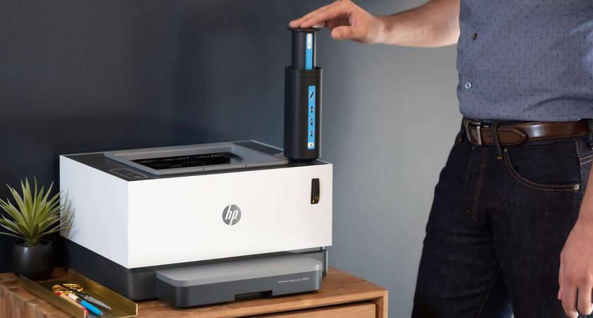 Neverstop Laser: первый лазерный принтер без картриджа от HP