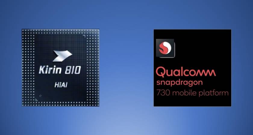 Процессор Kirin 810 «утёр нос» Snapdragon 730?