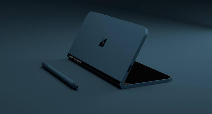 Microsoft готовится к презентации складного планшета