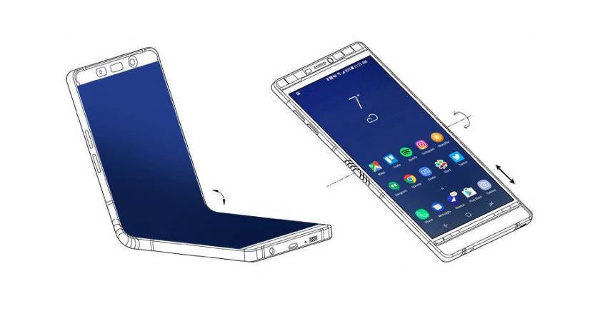Samsung собирается выпустить телефон-раскладушку с гибким дисплеем