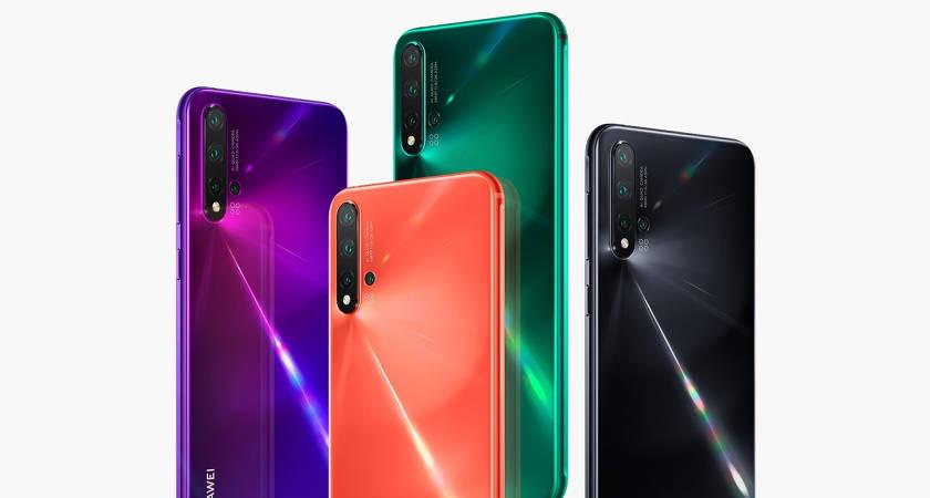 Презентация Huawei nova 5i Pro состоится 26 июля