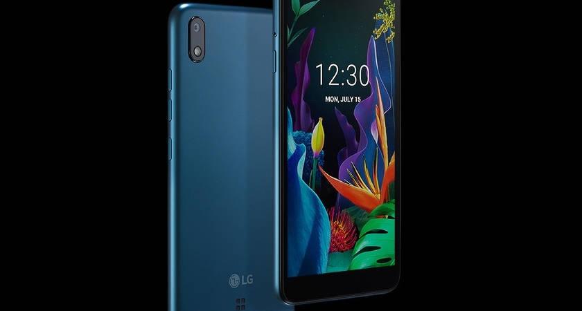 LG выпустила бюджетный смартфон на Android Go