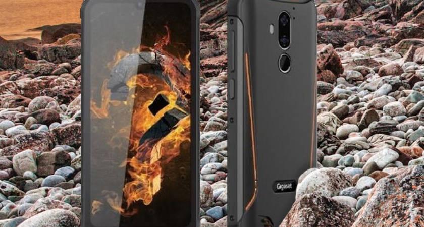 Gigaset показали смартфон с защитой IP68 и батареей 6200 мАч