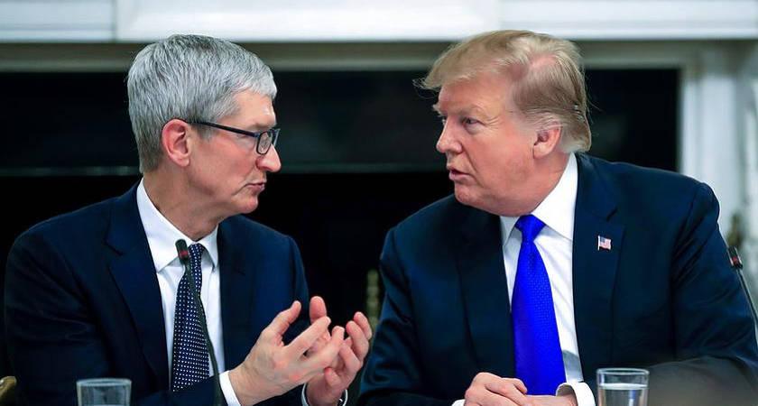 Неужели из-за торговой войны Samsung обойдет Apple?