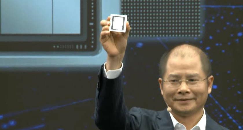 Наконец-то Huawei показали процессор Ascend 910