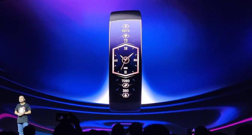 Huami показали смарт-часы Amazfit X с гибким экраном