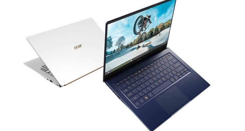 В рамках компания Acer показала ультрабук Swift 5