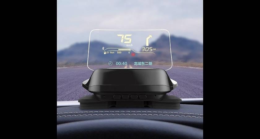 Компания Xiaomi анонсировала проекционный экран для автомобилей