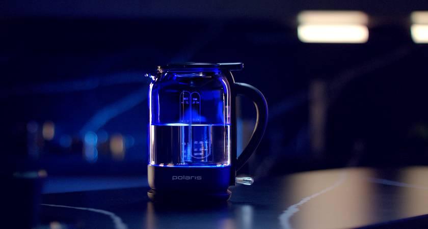 Стартовали продажи чайников Polaris с верхним заливом воды