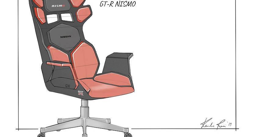 Nissan выпустят игровые кресла с аудиосистемой