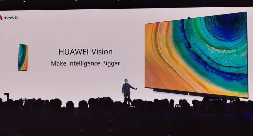 Huawei показали первый телевизор Vision на базе Harmony OS