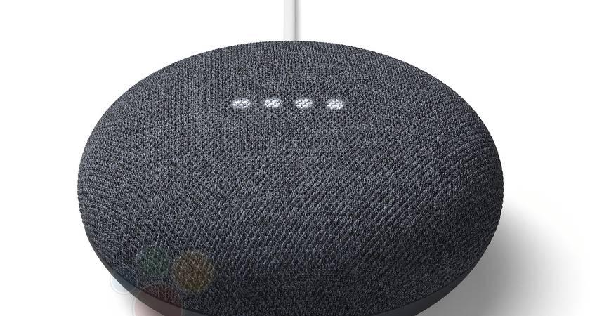Музыкальную колонку Google Nest Mini рассекретили?