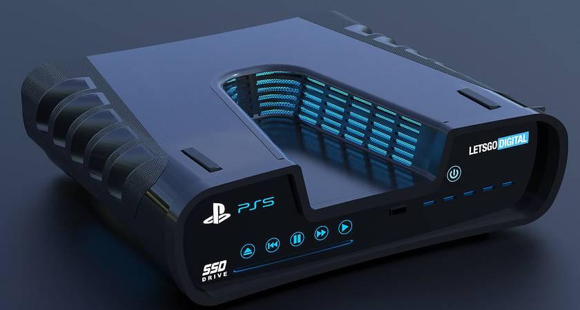 Появилось первое фото PlayStation 5: V-образный корпус и 6 портов