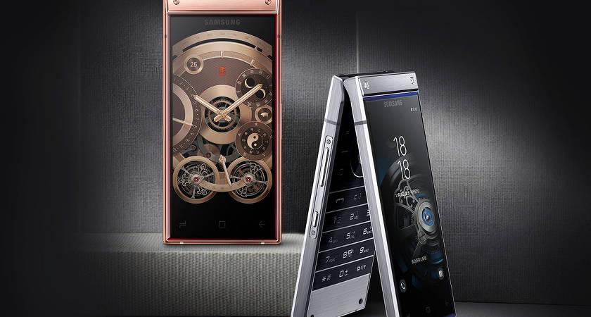 Samsung покажут смартфон-раскладушку W20 с гибким экраном уже в ноябре