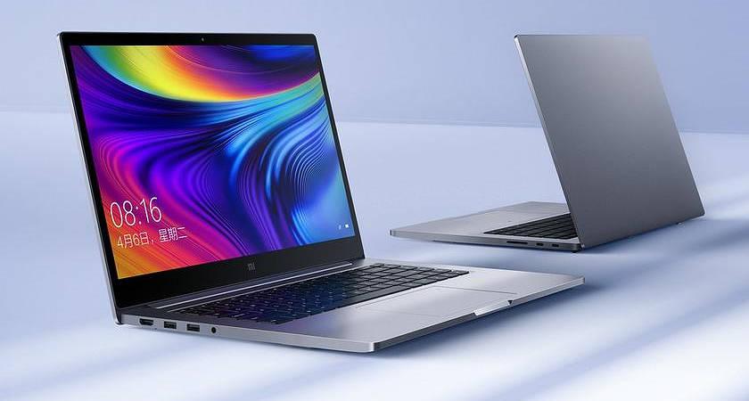 Xiaomi показала первые ноутбуки на Intel Core 10 поколения