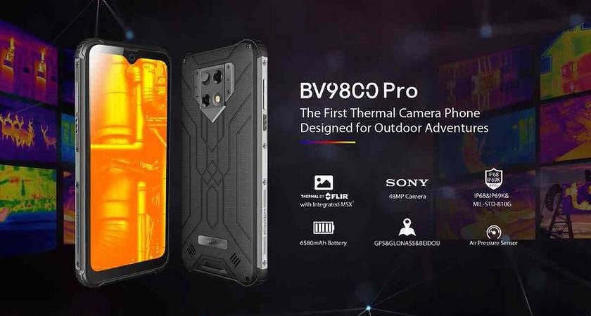 Представлен защищенный смартфон Blackview BV9800 Pro с батареей на 6580 мАч