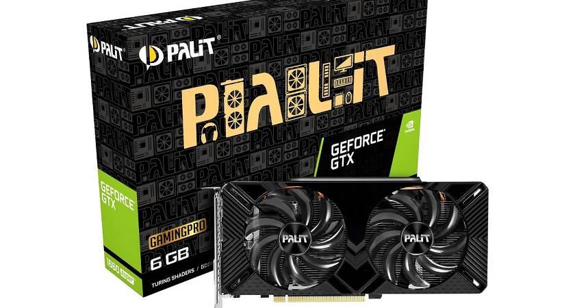 Представлены новые видеокарты GeForce GTX 1660 и 1650 SUPER от Palit