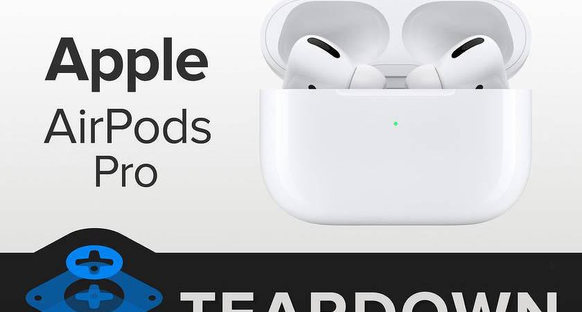 Apple AirPods Pro провалили тест на ремонтопригодность?
