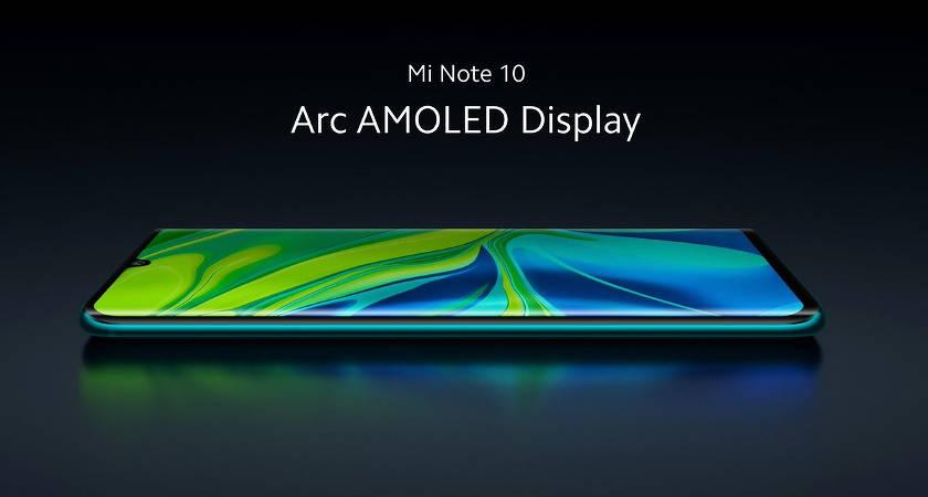Названа дата продаж Xiaomi Mi Note 10 на глобальном рынке