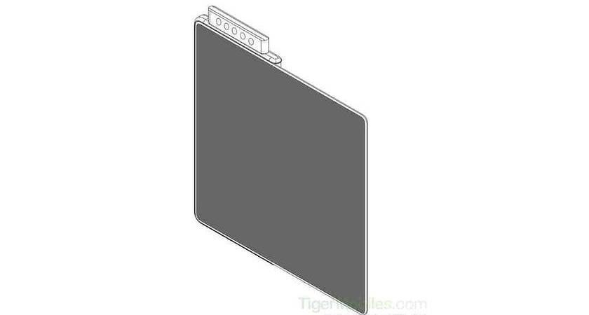 Xiaomi зарегистрировали патент нового складного смартфона?