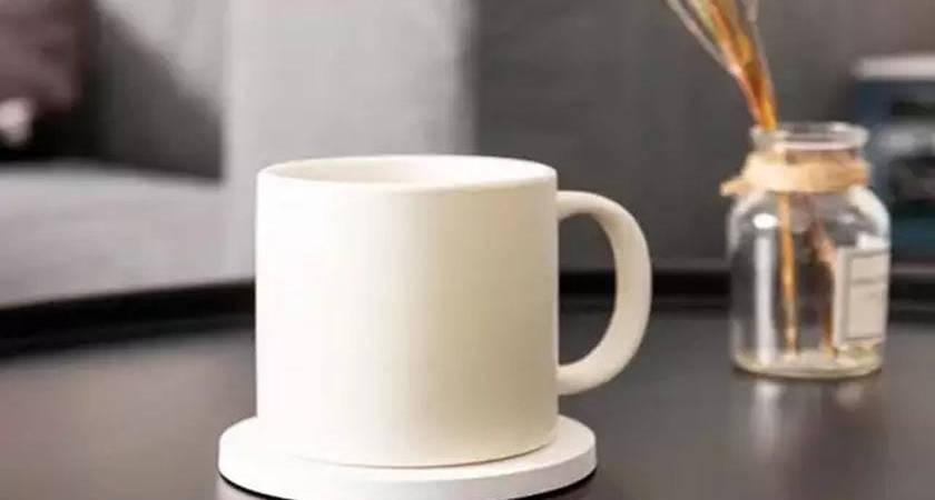 Xiaomi создала умную чашку с автоматическим подогревом