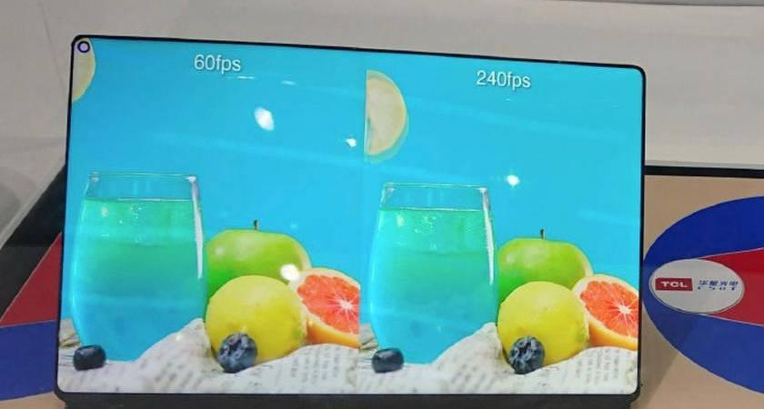 TCL WQ Gaming Tablet Display: новый дисплей для игровых планшетов