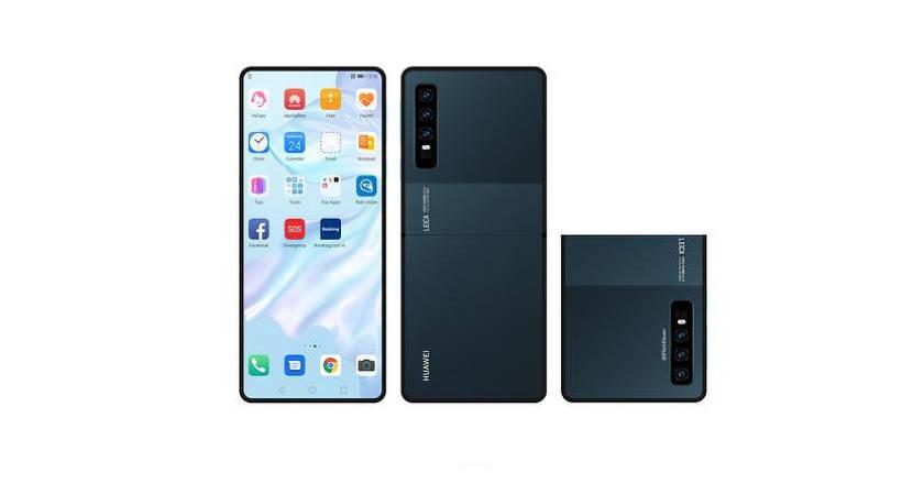 В сети появились рендеры «раскладушки» от Huawei
