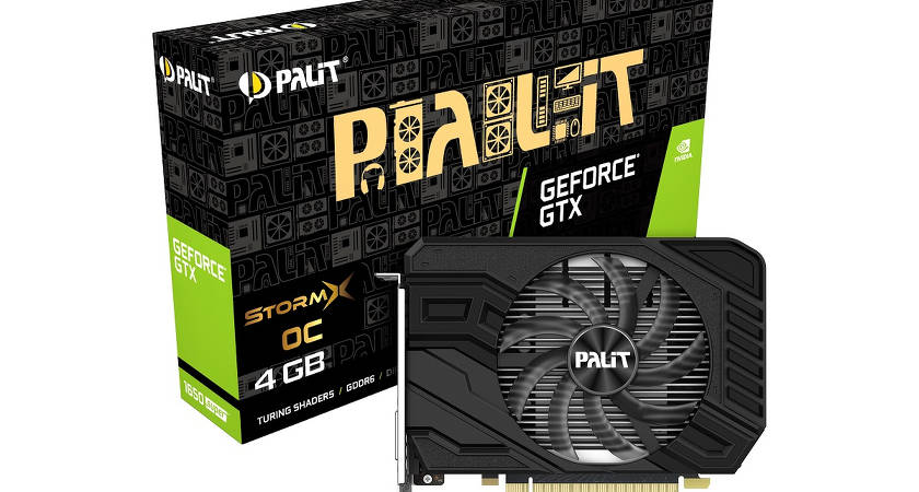 Стартовали продажи PALIT GeForce® GTX 1650 SUPER™
