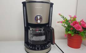 Обзор кофеварки Morphy Richards (162525EE) Evoke Platinum