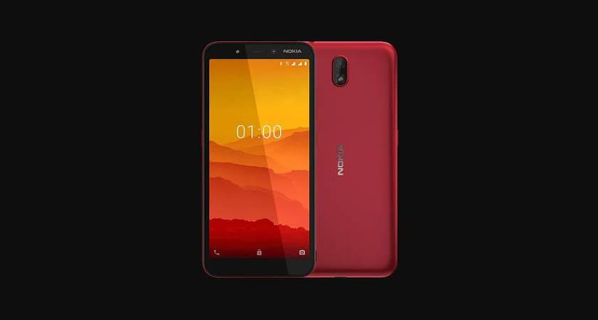 Вышел Nokia C1: смартфон на Android Go за 60 долларов