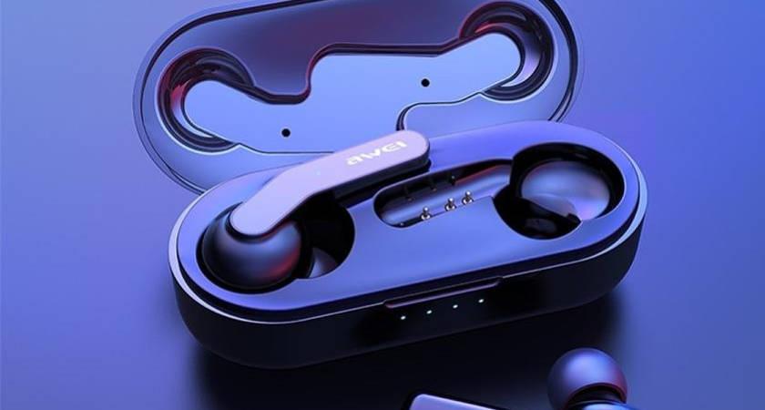 AWEI T10C: новые наушники с беспроводной зарядкой за 23 доллара