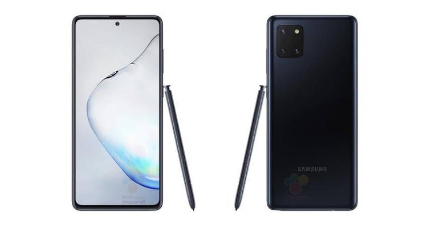 Galaxy Note 10 Lite появился на рендерных фото