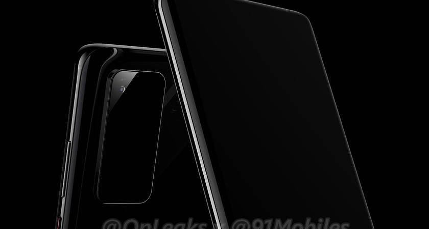 Появились первые рендерные фото Huawei P40 и P40 Pro