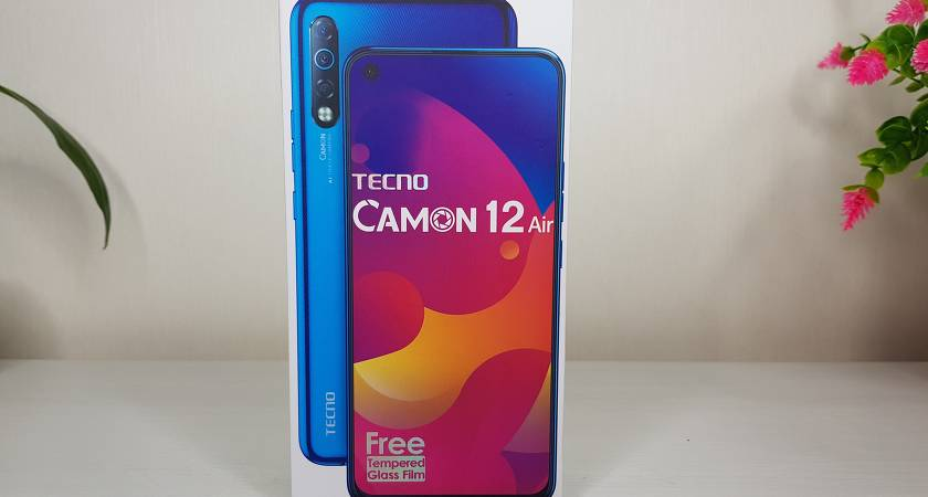 Обзор недорогого смартфона CAMON 12 Air