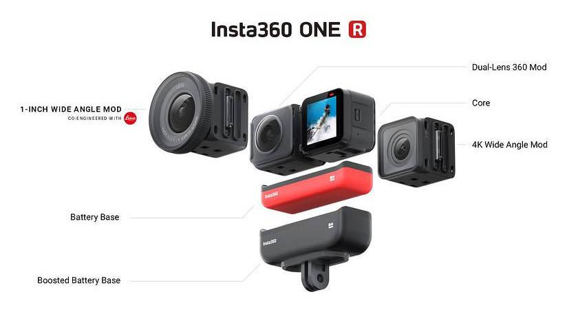 Insta360 ONE R – новая экшн-камера с оптикой Leica и классом защиты IPX8