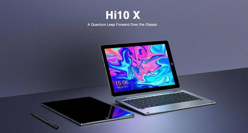 CHUWI Hi10X – новый многообещающий Windows-планшет!?