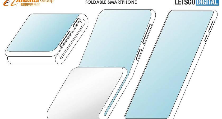 Alibaba запатентовали складной смартфон, серьезно!?