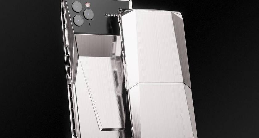 Cyberphone: уникальный титановый iPhone 11 Pro в дизайне Tesla Cybertruck