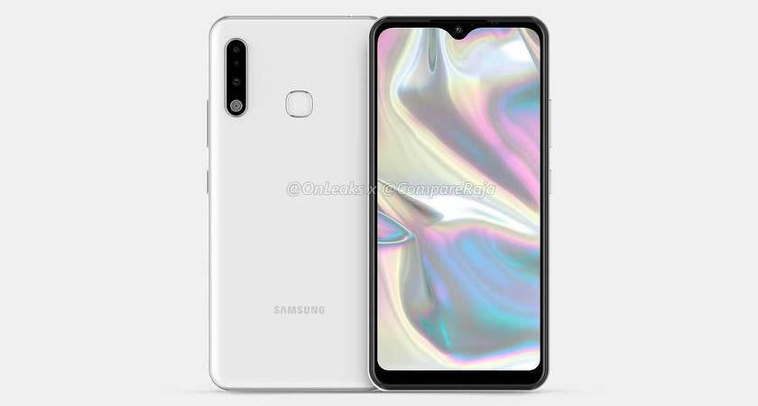 Samsung выпустит Galaxy A70e: представлены рендены