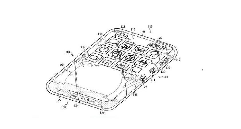 Компания Apple подала патент на полностью стеклянный iPhone