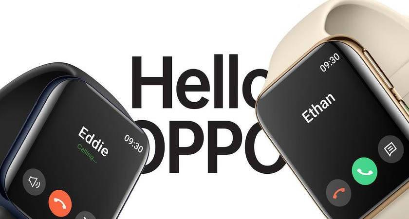 OPPO Watch оснастят 1,91-дюймовым экраном с цветовым охватом DCI-P3
