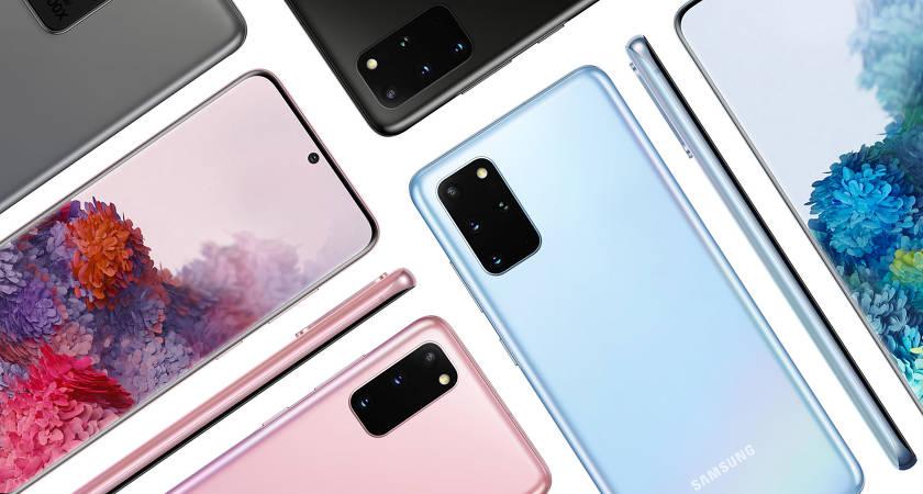 Лучшие смартфоны Samsung 2020 года