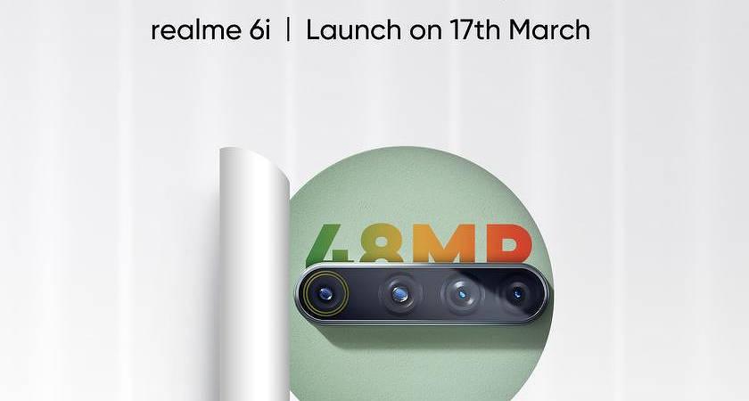 OPPO назвали дату выхода Realme 6i с процессором MediaTek Helio G80
